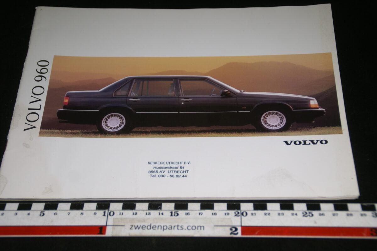 DSC00309 1991 originele Volvo brochure 960 nr. MS-PV 4176-23c8b6e1