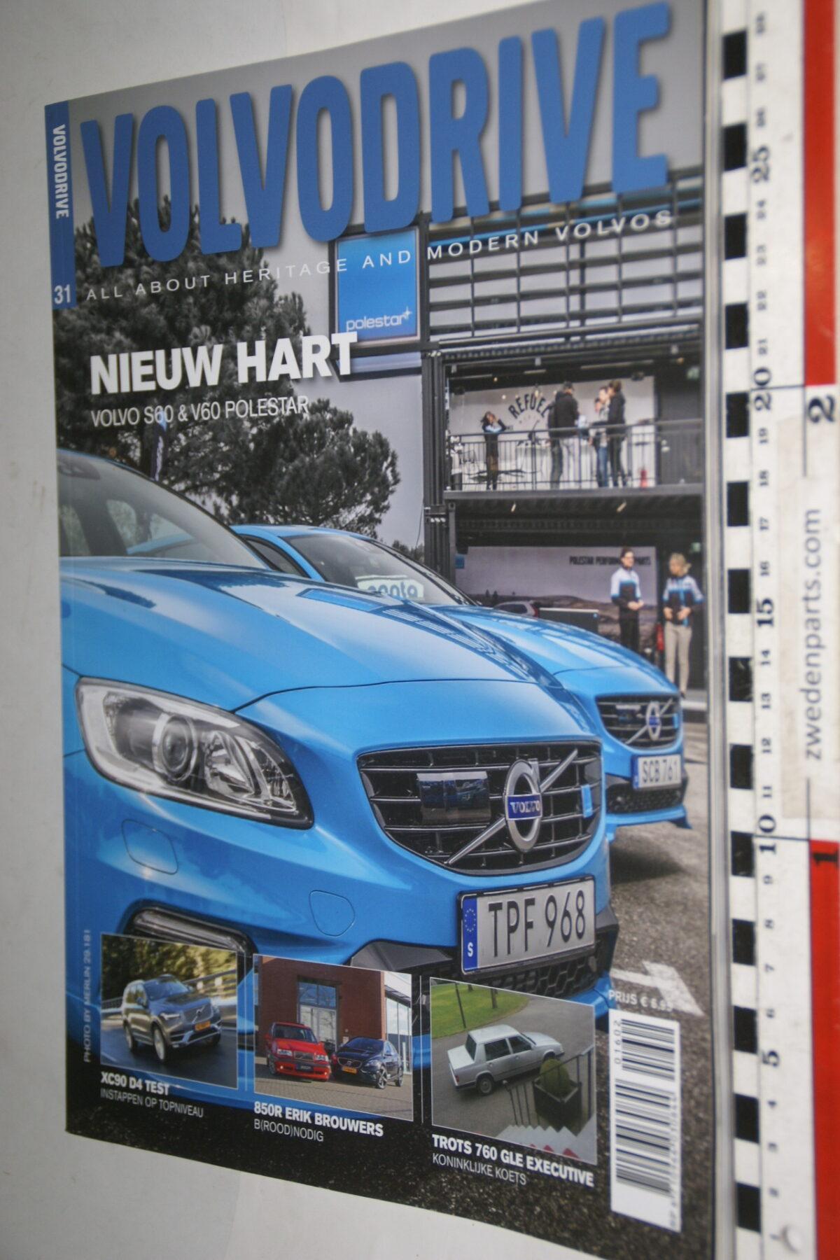 DSC00319 tijdschrift Volvodrive nr 31 met Polestar-1fed8a3a