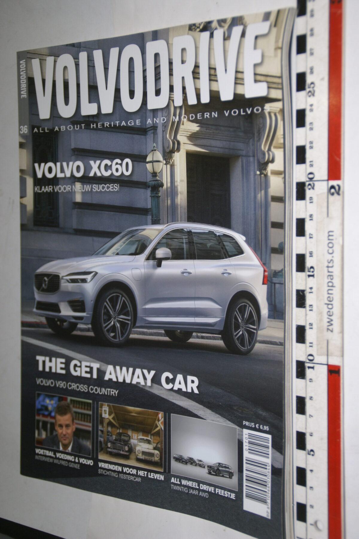 DSC00321 tijdschrift Volvodrive nr 36 met XC60 en V90 XC-0d6d19de