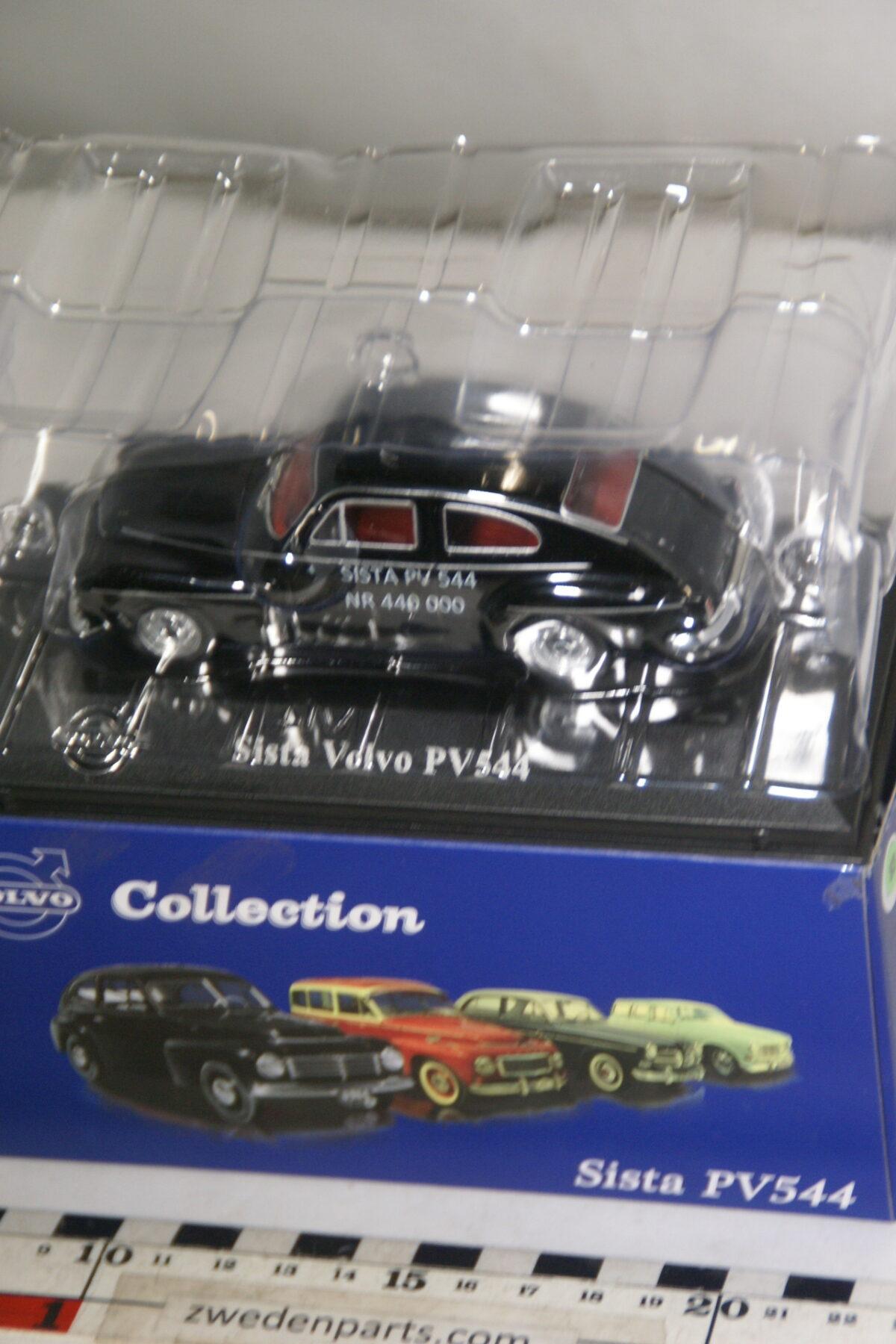 DSC00488 miniatuur 1965 Volvo laatste PV544 zwart 1op43 Atlas 83 nieuw in originele verpakking-ffb41d50