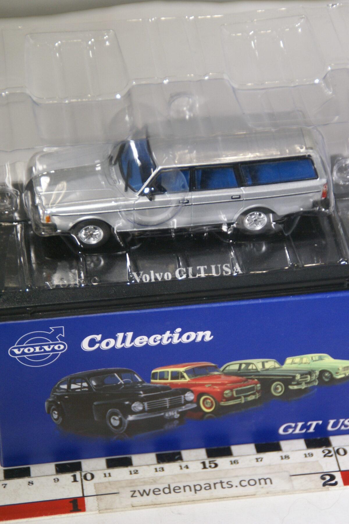 DSC00496 miniatuur Volvo 240 245GLT USA grijs 1op43 Atlas 90 nieuw in originele verpakking-1e599b65