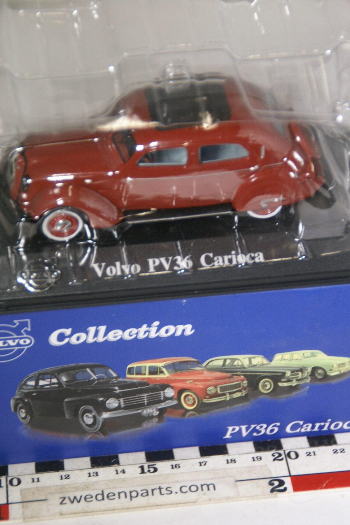 DSC00519 miniatuur Volvo PV36 Carioca rood 1op43 Atlas 22 nieuw in originele verpakking-1ca7f4ff