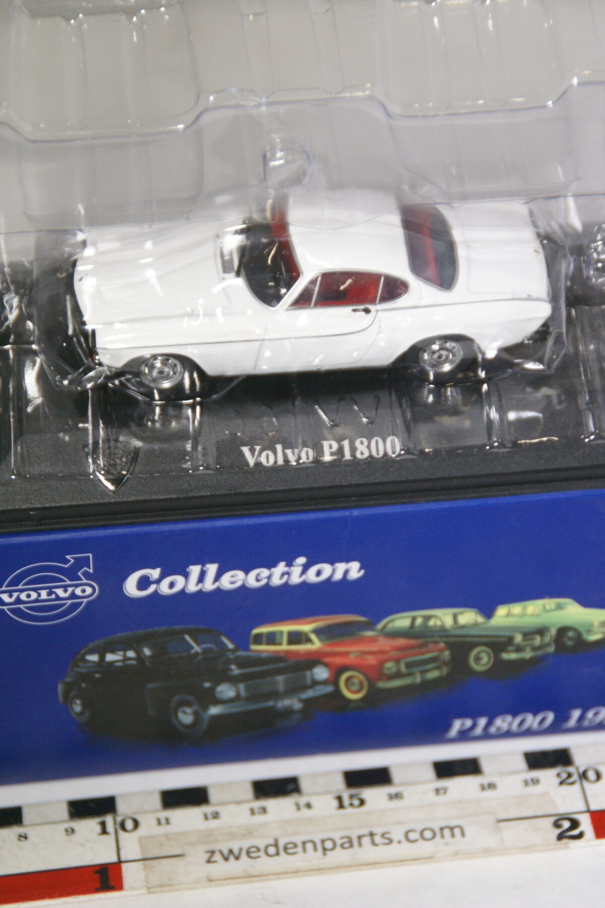 DSC00523 miniatuur 1964 Volvo P1800 wit 1op43 Atlas nieuw in originele verpakking-e2bbc44e