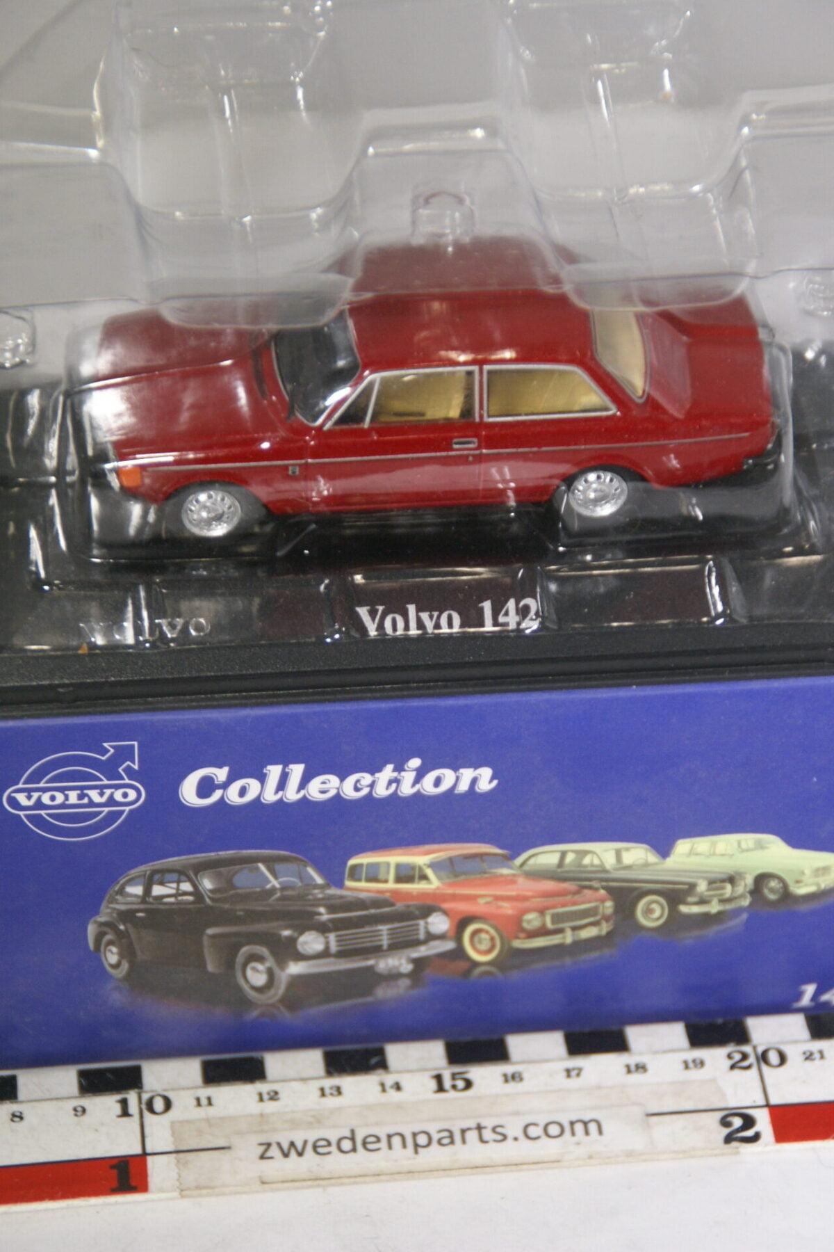 DSC00535 miniatuur Volvo 142 rood 1op43 Atlas 27 nieuw in originele verpakking-056b0e16