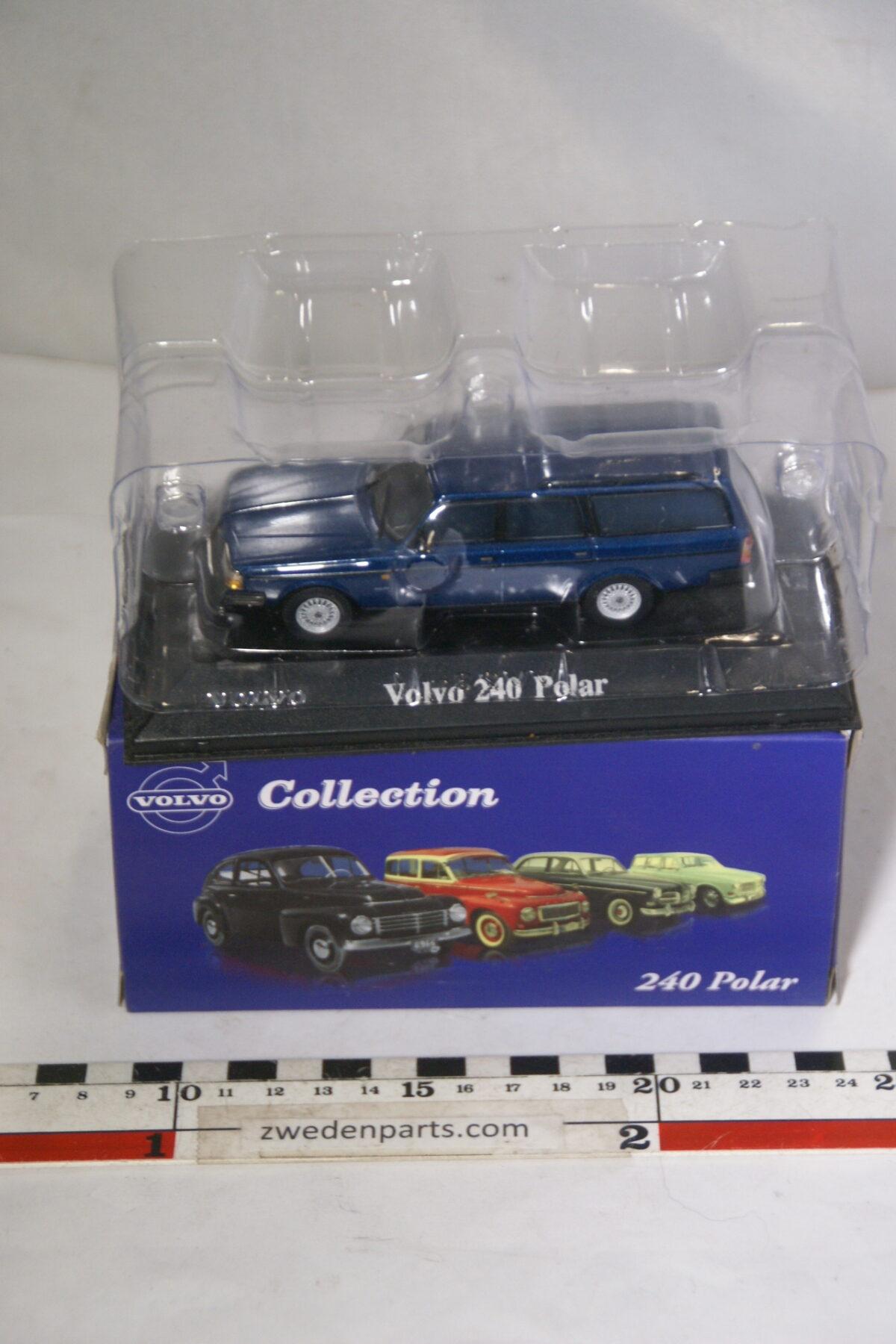 DSC00541 miniatuur Volvo 240 245 Polar patrol 1op43 Atlas 28 nieuw in originele verpakking-50103ff0