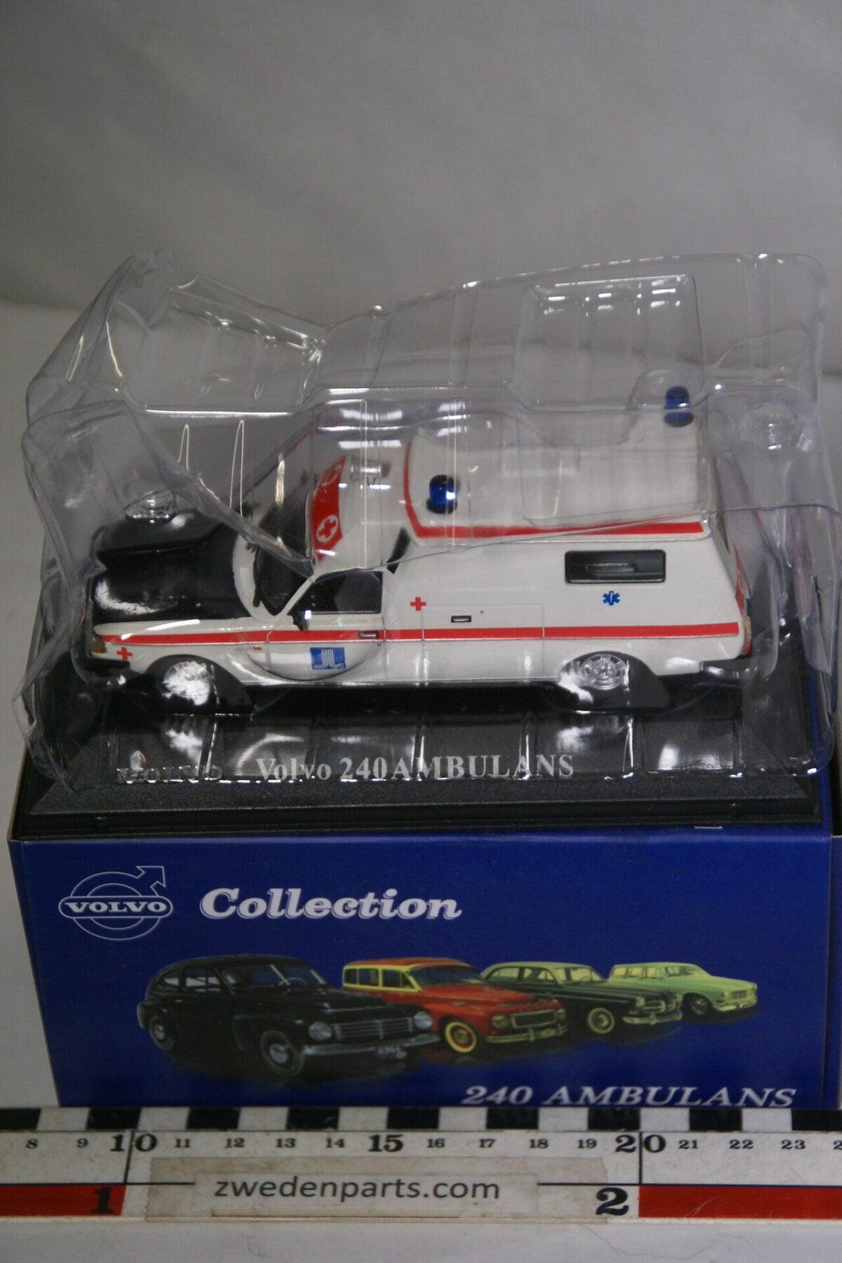 DSC00547 miniatuur Volvo 240 245 ambulance 1op43 Atlas 56 nieuw in originele verpakking-537a4a20