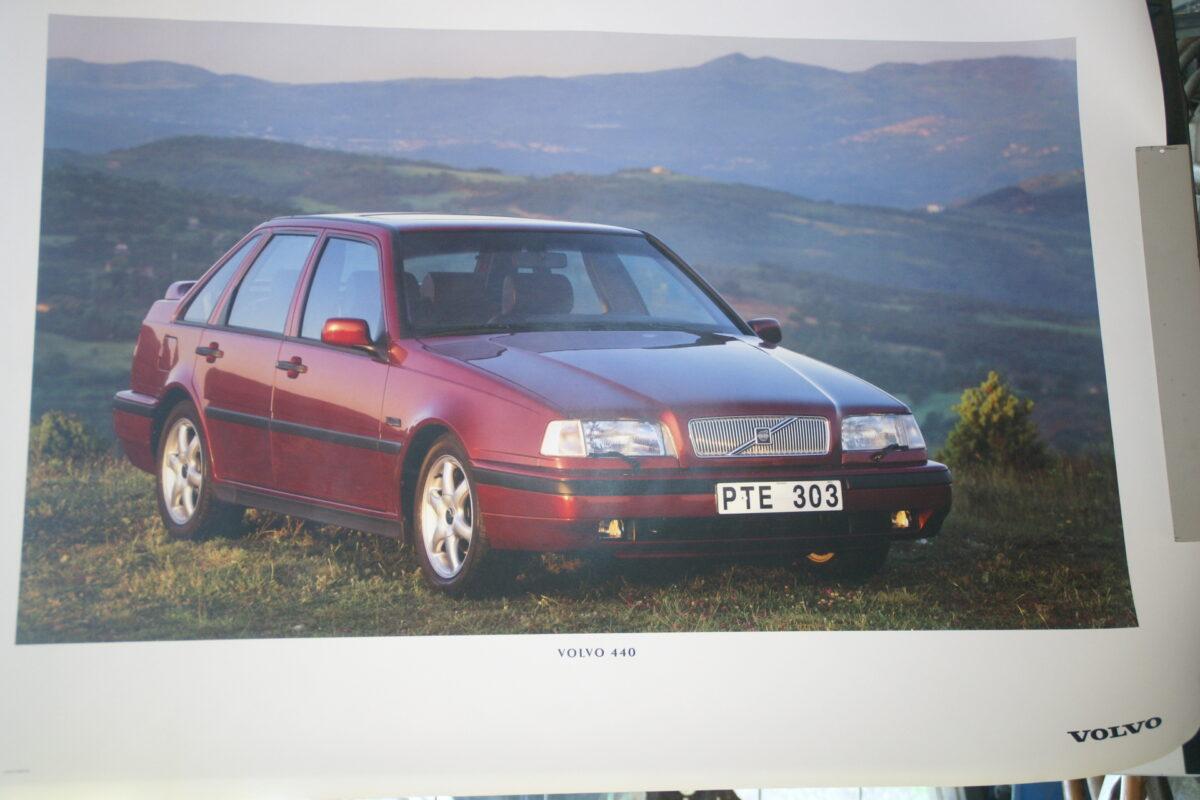 DSC07672 1995 originele poster Volvo 440 ca 50 x 70 cm nr MS-PV 6888-95-5a560028