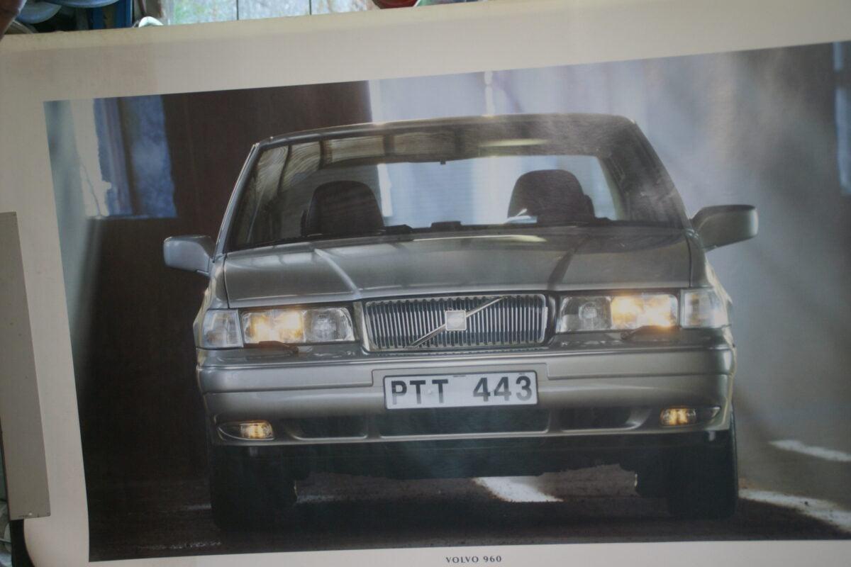 DSC07675 1995 originele poster Volvo 960 ca 50 x 70 cm nr MS-PV 6881-95-c2275589