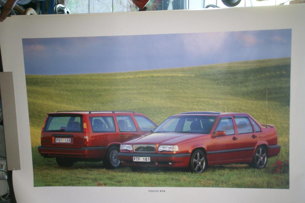 DSC07677 1995 originele poster Volvo 850 ca 50 x 70 cm nr MS-PV 6886-95-9e88e14d