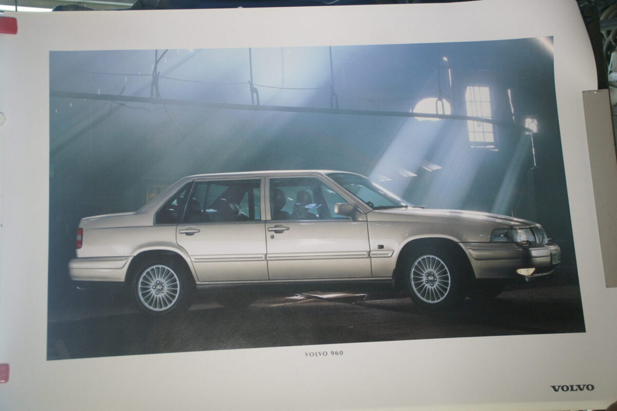 DSC07679 1995 originele poster Volvo 960, ca 50 x 70 cm nr MS-PV 6880-95-b5913273