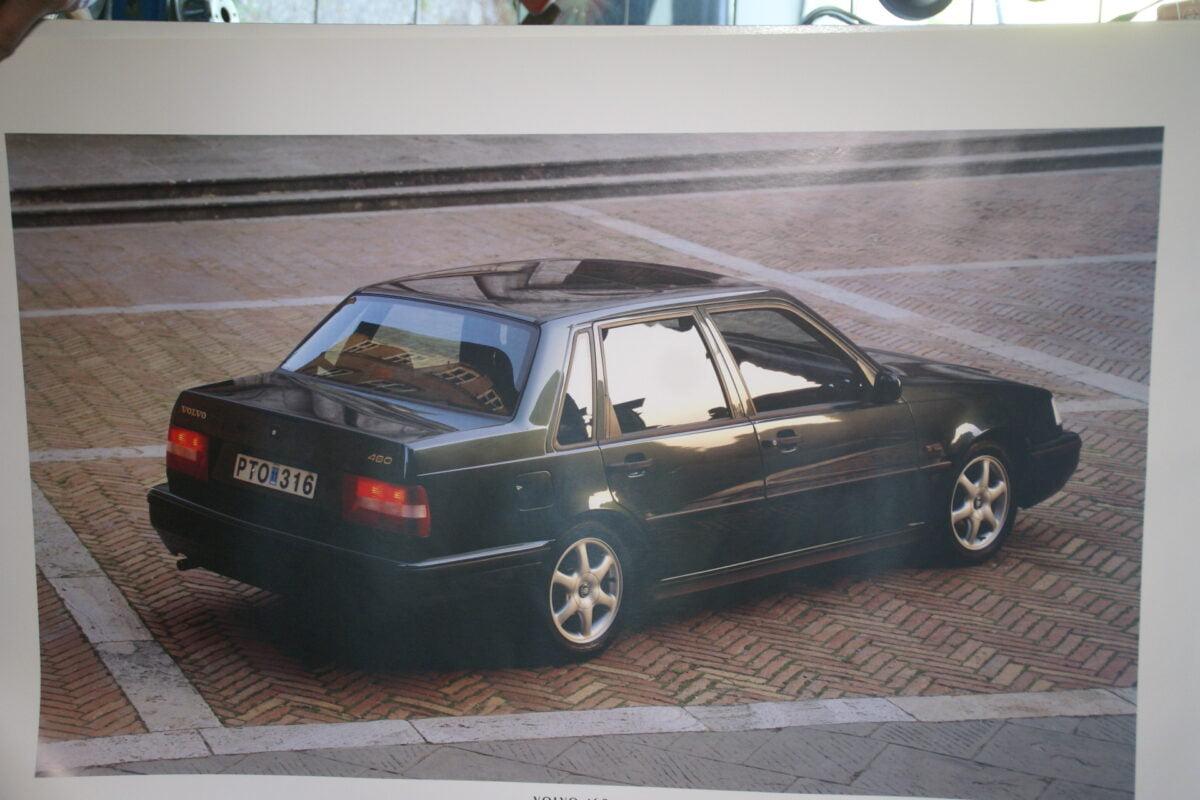DSC07681 1995 originele poster Volvo 460 ca 50 cx 70 cm r MS-PV 6889-95-08aa2ded