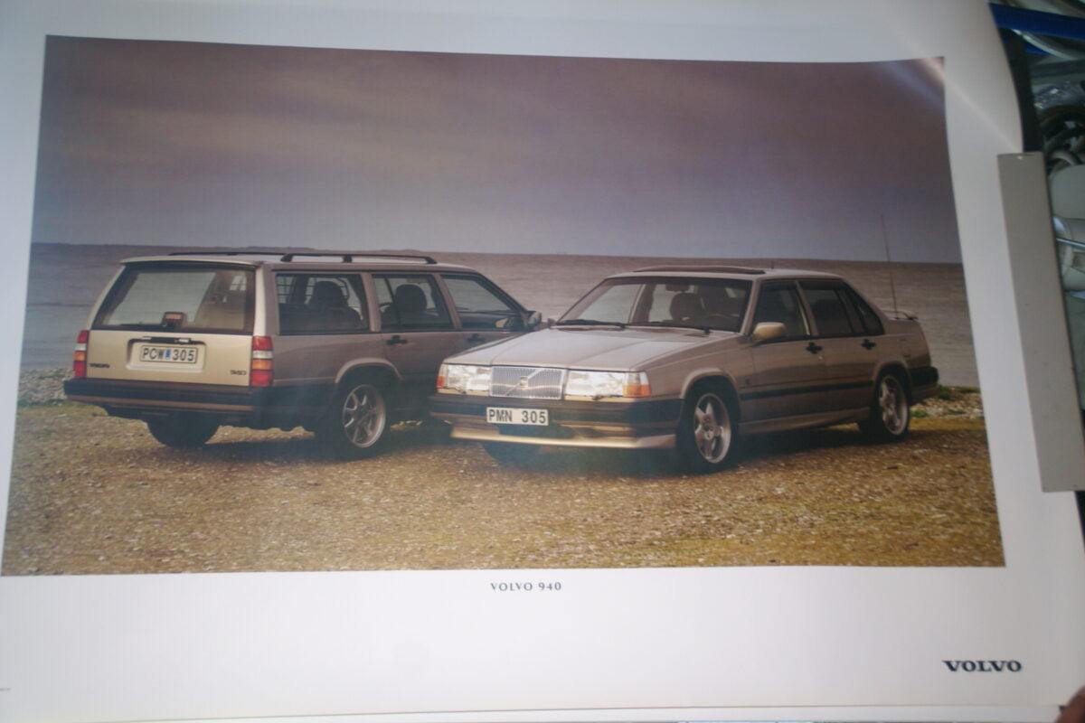 DSC07683 1995 originele poster Volvo 940 ca 50 x 70 cm nr MS-PV 6883-95-86b51408