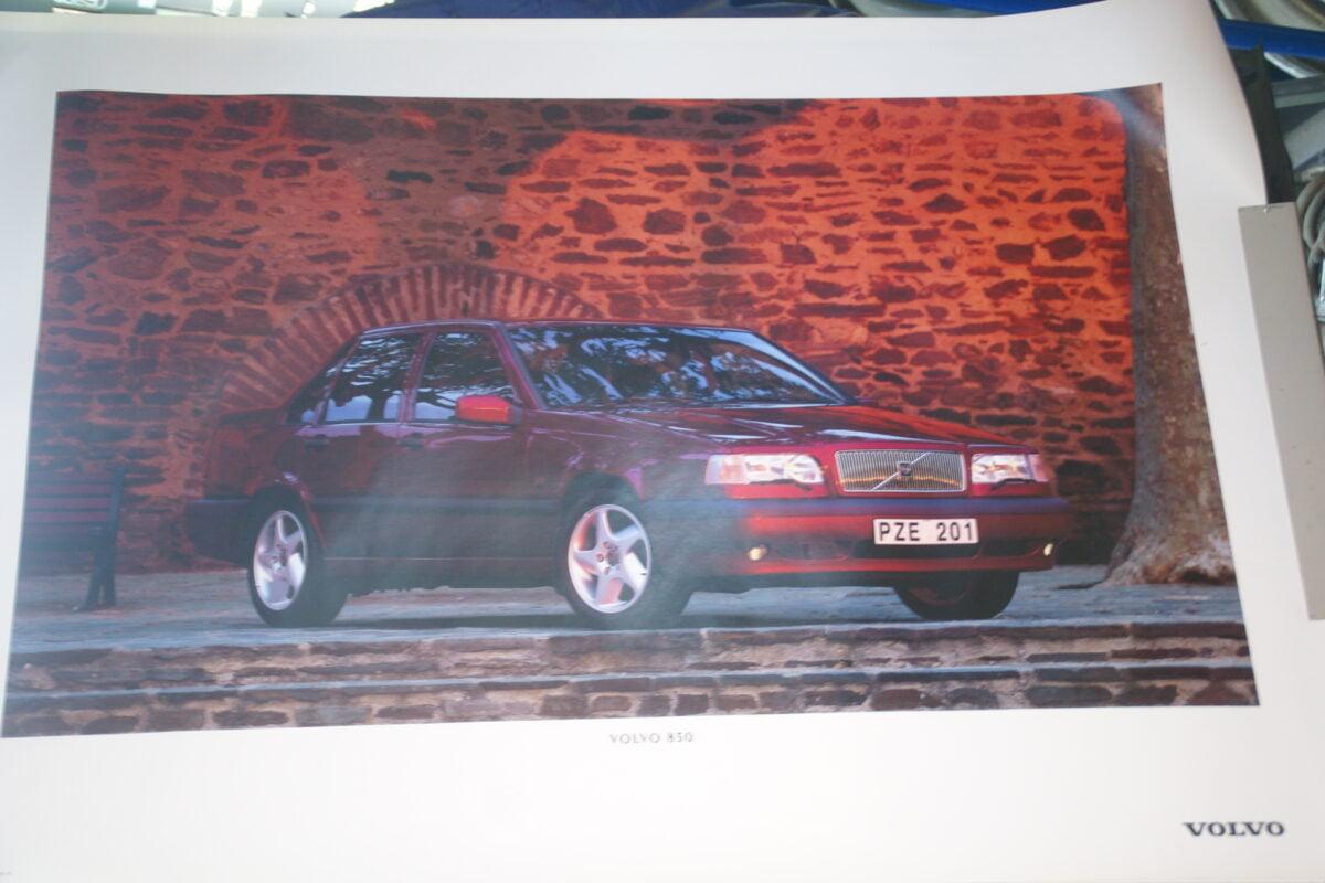 DSC07686 1995 originele poster Volvo 850 ca 50 x 70 cm nr MS-PV 6884-95-299208a2