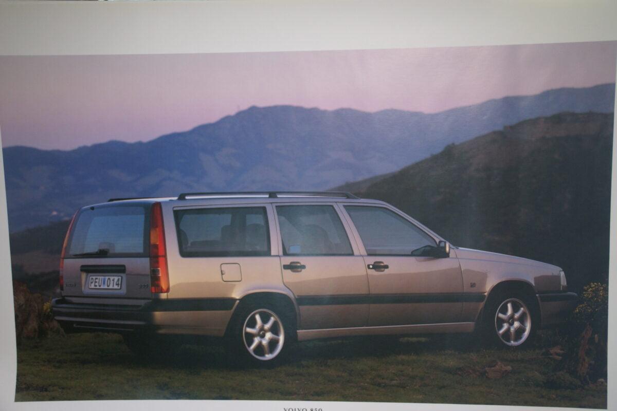 DSC07690 1995 originele poster Volvo 850 ca 50 x 70 cm nr MS-PV 6885-95-d48fea16