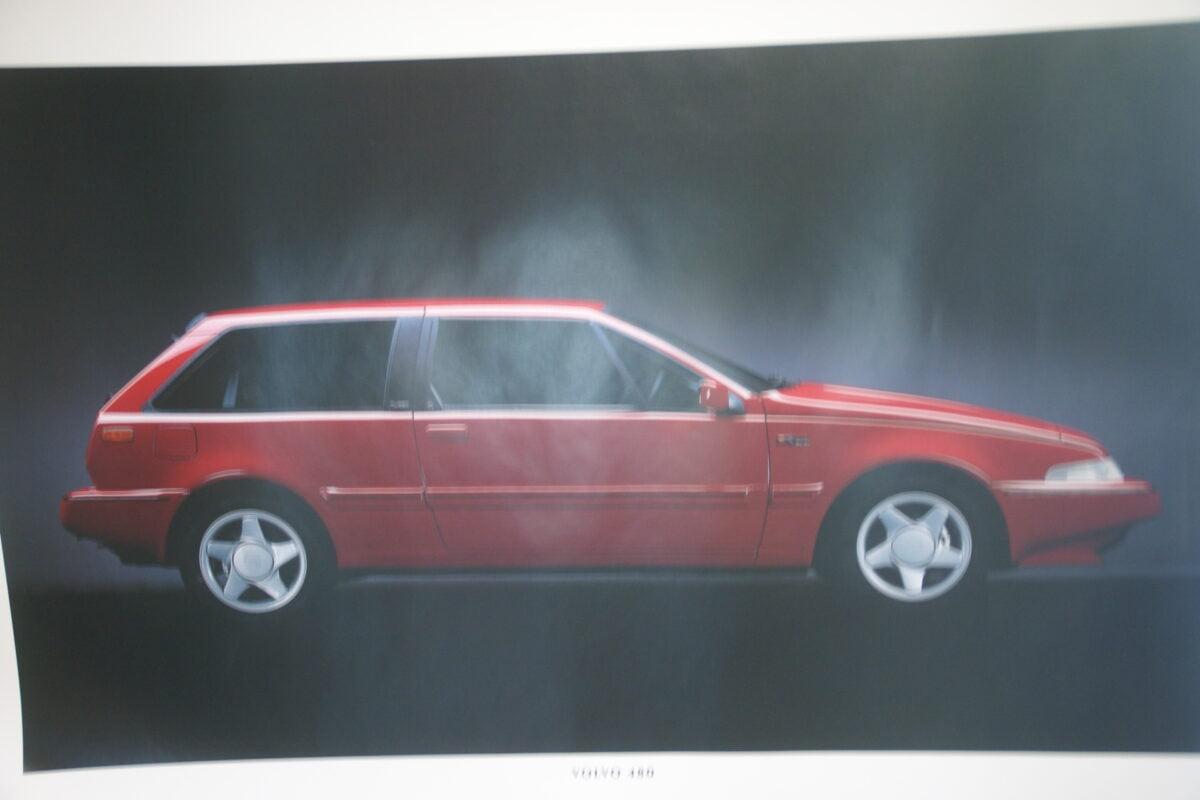 DSC07692 1995 originele poster Volvo 480 ca 50 x 70 cm nr MS-PV 6891-95-c5186862