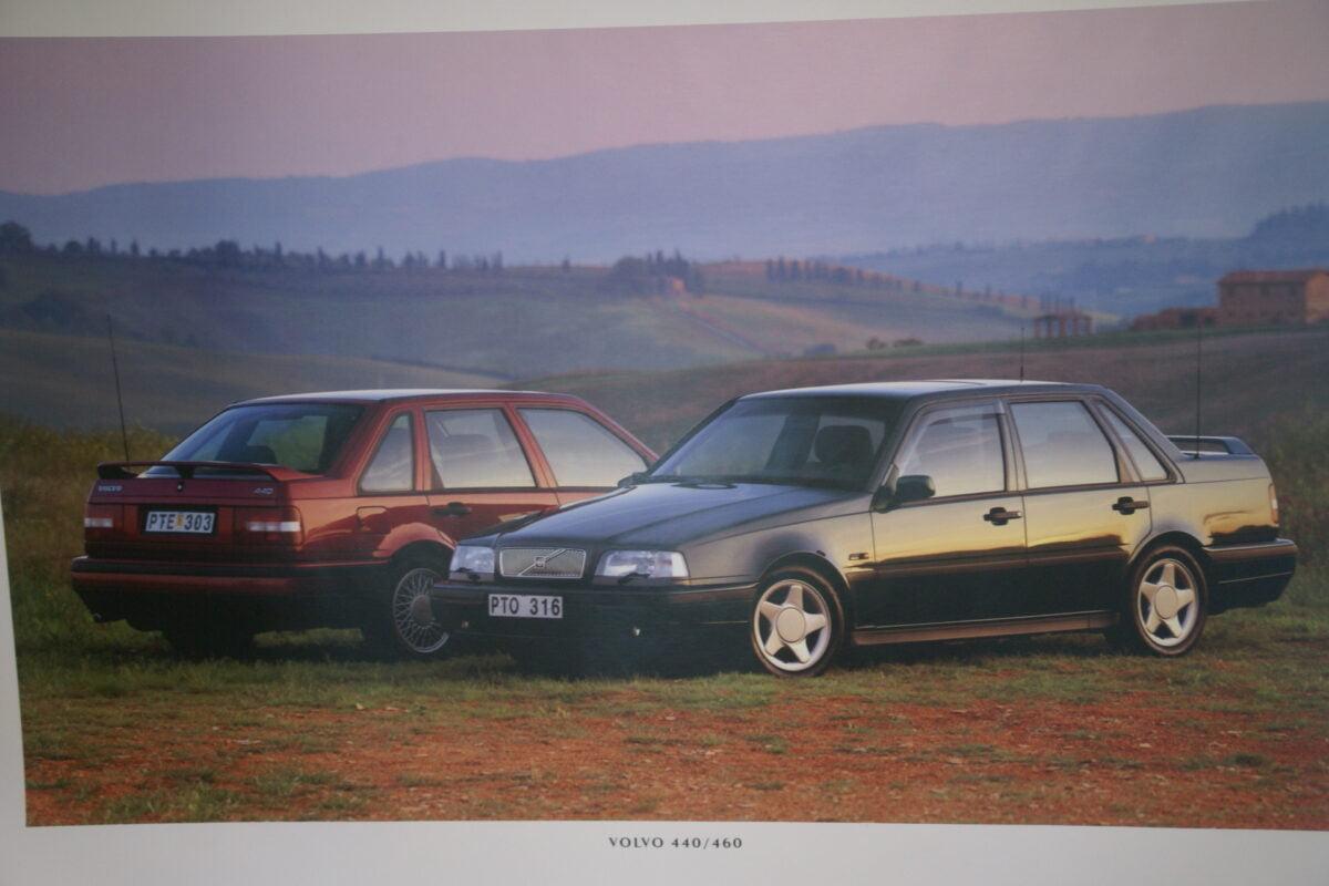 DSC07694 1995 originele poster Volvo 440 460 ca 50 x 70 cm nr MS-PV 6890-95-ed4d1745