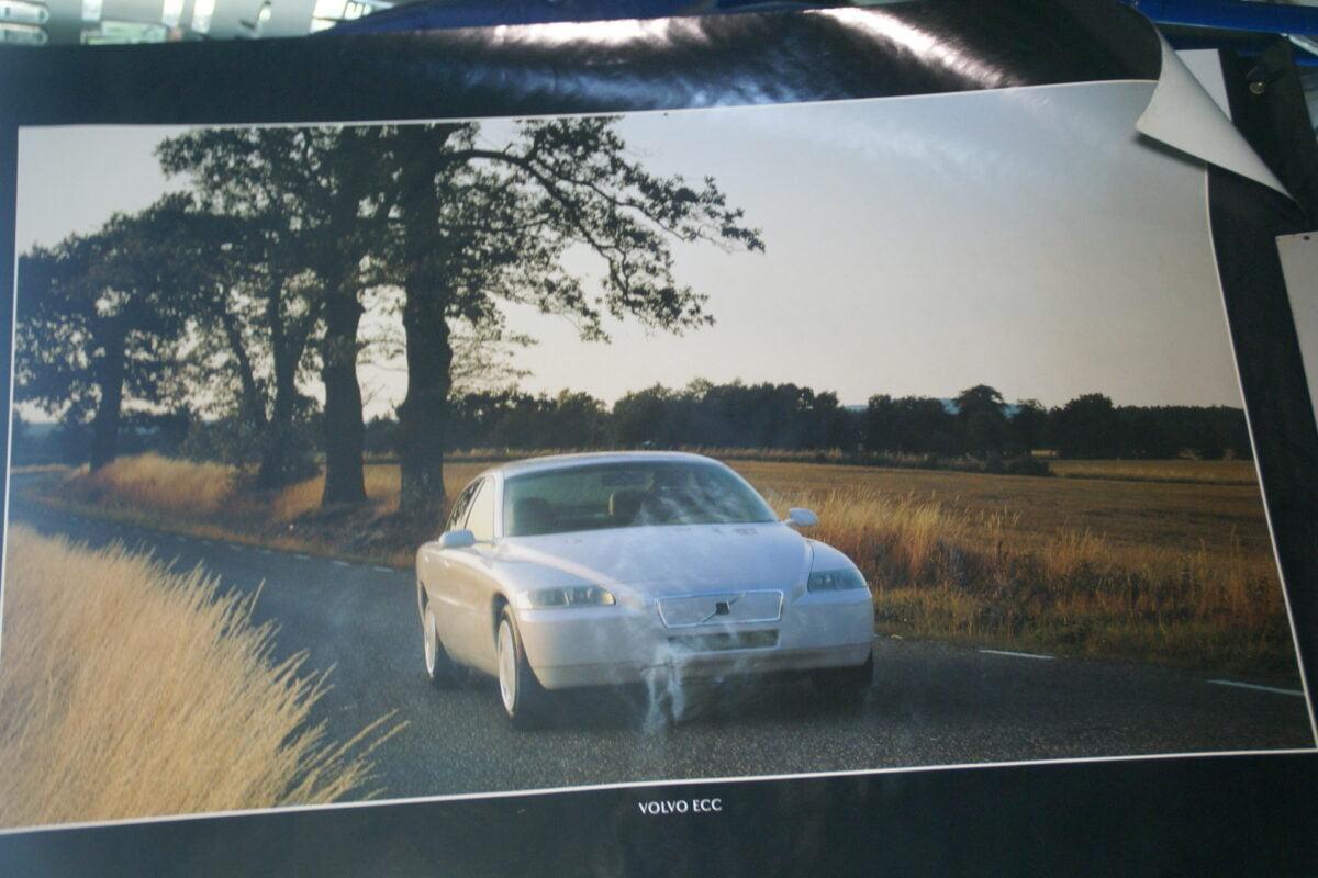 DSC07696 1993 originele poster Volvo ECC ca 50 x 70 cm nr MS-PV 527-5785-93-bc0366e4
