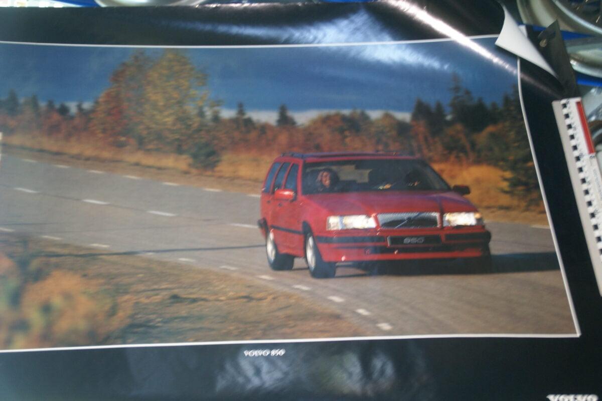 DSC07701 1993 originele poster Volvo 850 ca 50 x 70 cm nr MS-PV 5777-93-f3b1729d