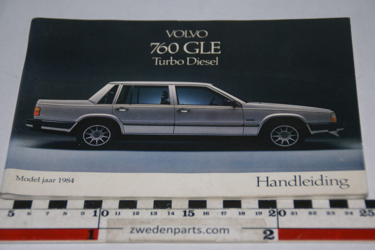 DSC07711 1983 originele instructieboekje Volvo 760GLE Turbodiesel 1 van 1.250 nr TP 2442-1-68331b14