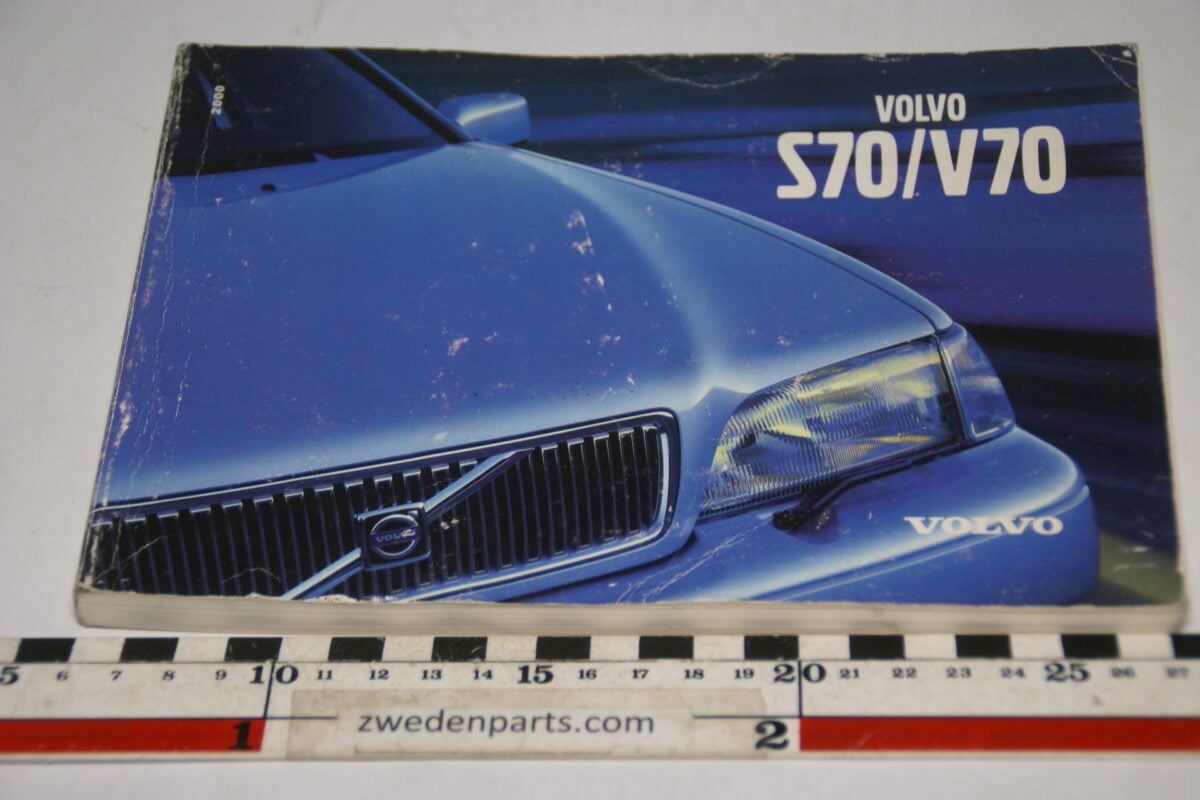 DSC07725 1999 originele instructieboekje Volvo S70 V70 nr TP 4588 Svensk-aa42c2a8