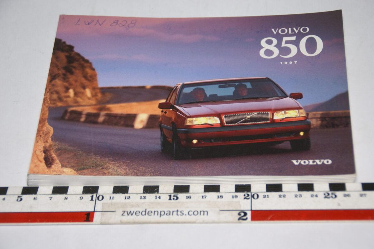 DSC07727 1997 originele instructieboekje Volvo 850 nr TP 3930-1 Svensk-b739b90c