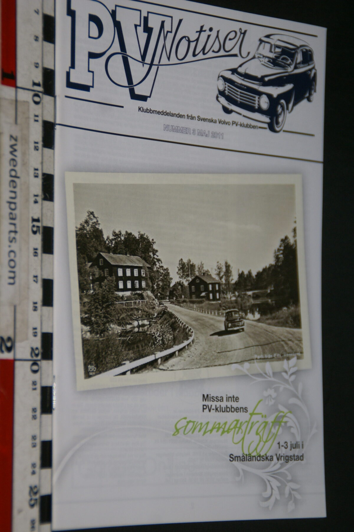 DSC08241 201105 tijdschrift Volvoklubben nr 3 Svensk-1052a8e0