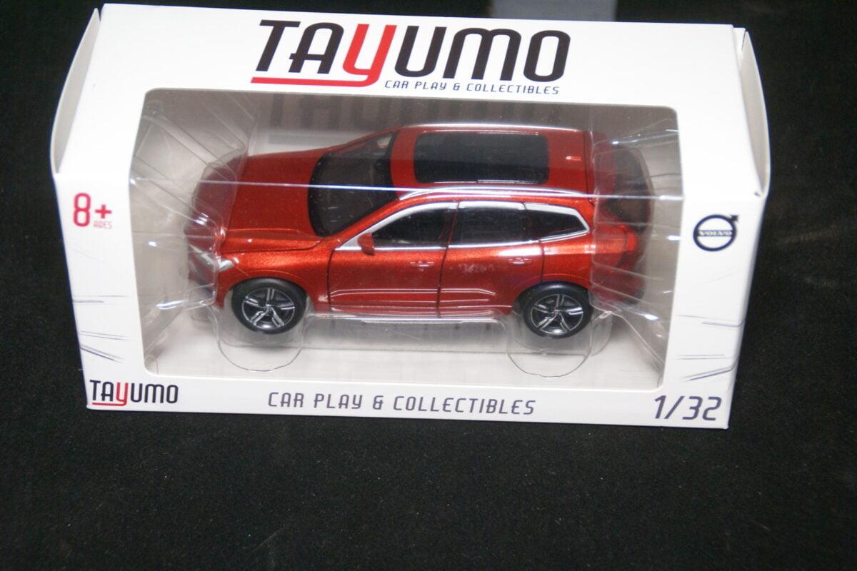 DSC09598 miniatuur Volvo XC60 fusion rood 1op32 Tayumo nr 32100114 MB-0fe356b6