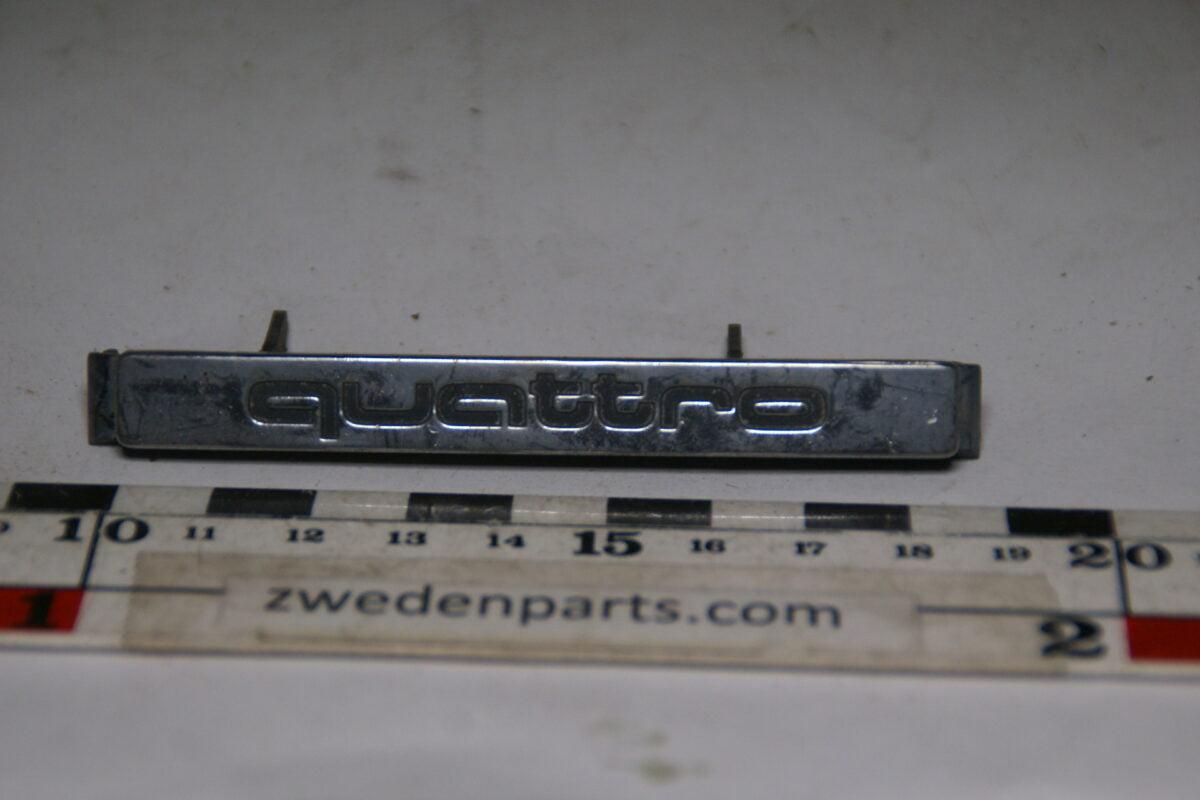 DSC00107 origineel embleem Audi Quattro-683715b2