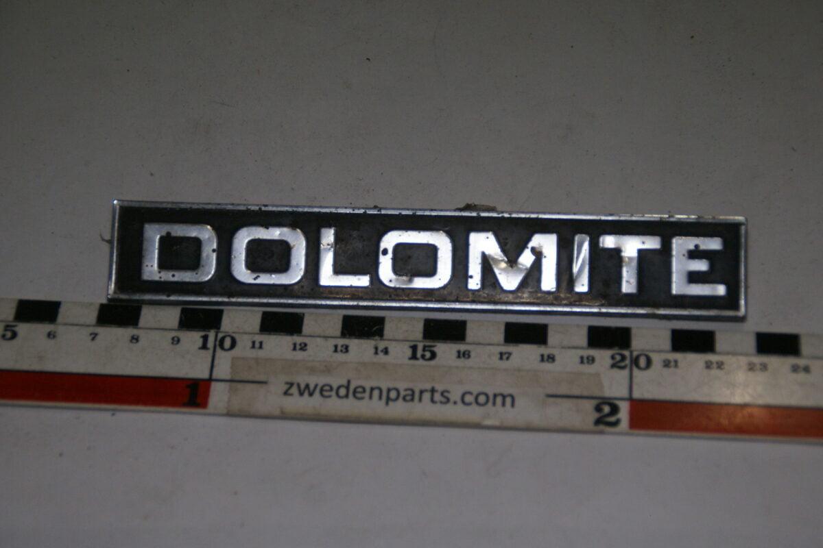 DSC00110 origineel embleem Triumph Dolomite nr 88627565-e8867596