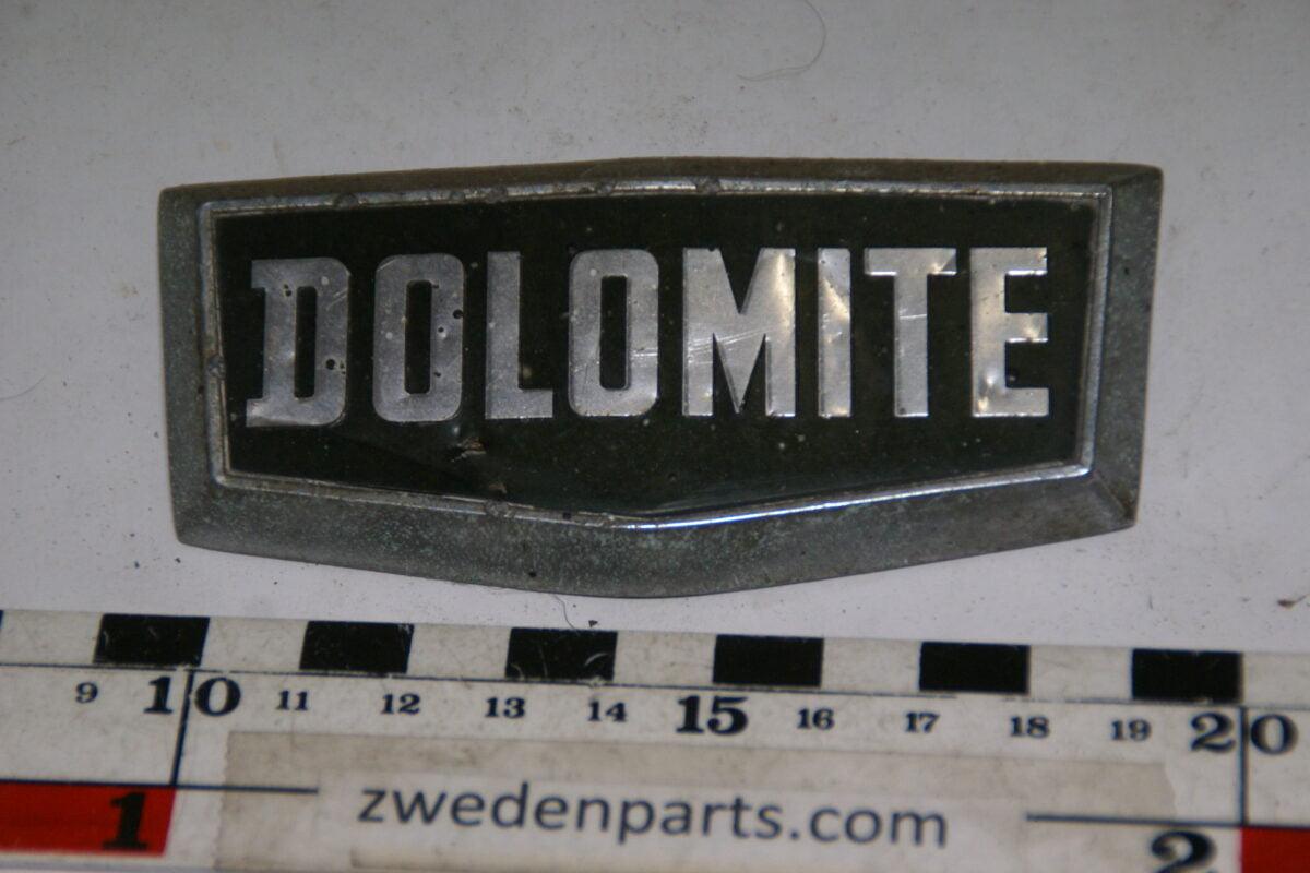 DSC00116 origineel embleem Triumph Dolomite-848532ee