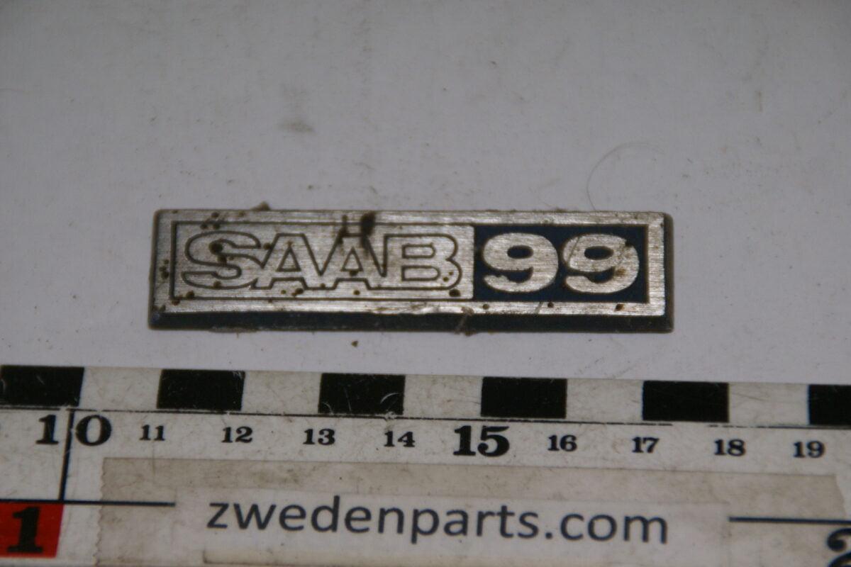 DSC00134 origineel embleem SAAB 99-1998784a