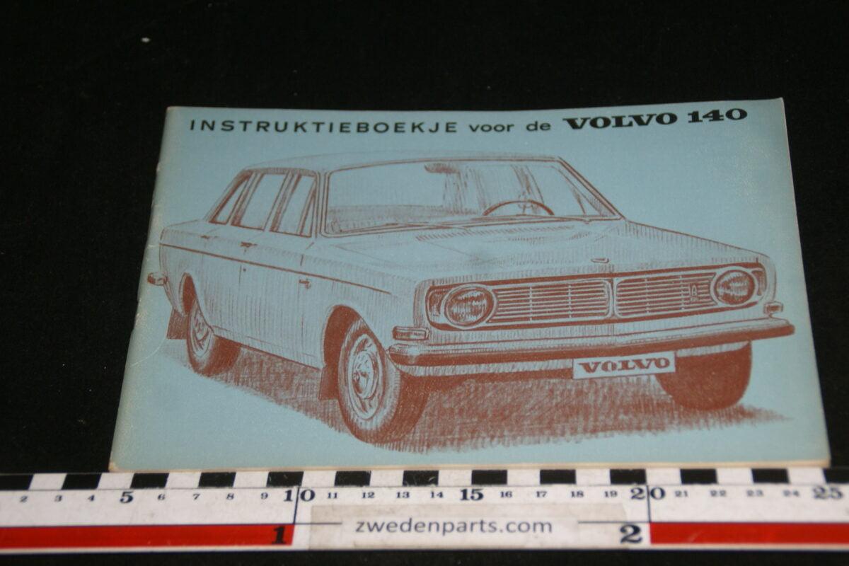 DSC00159 1968 origineel Volvo 140 instructieboekje TP587-1-69fd112c