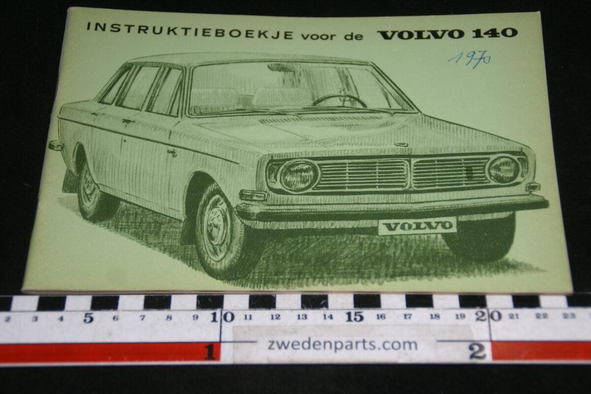 DSC00163 1969 origineel Volvo 140 instructieboekje TP665-1-d2d8e728