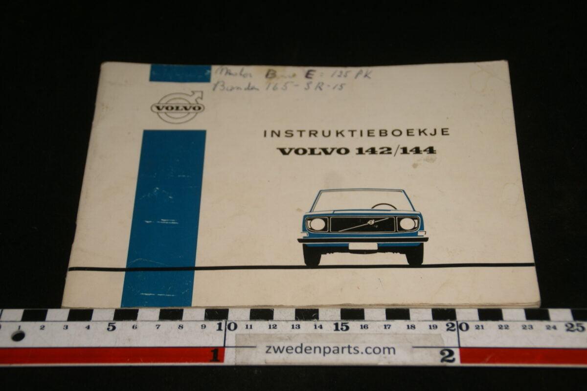 DSC00167 1971 origineel Volvo 140 instructieboekje TP863-1-74785f70
