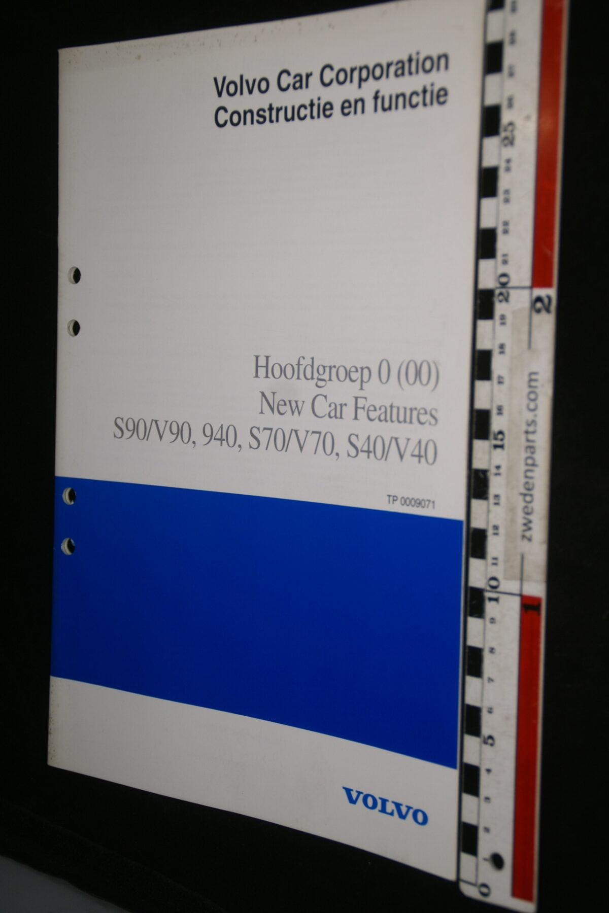 DSC00173 1996 origineel Volvo S90 V90 940 S70 V70 0 (00) nieuwe aspecten werkplaatsboek 1van 350 TP0009071-777d8468