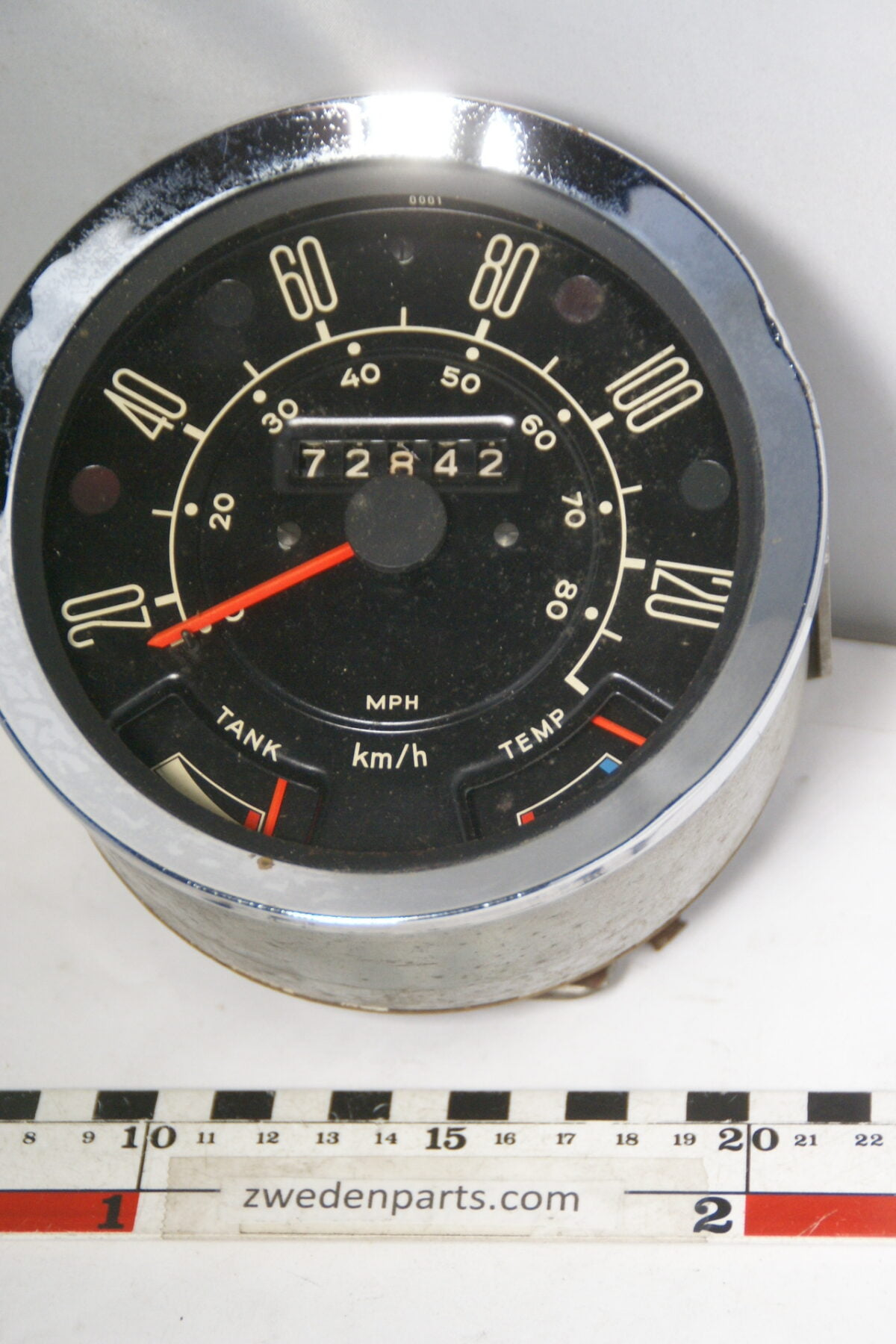 DSC01160 origineel Ford Transit instrument snelheidsmeter-82914756
