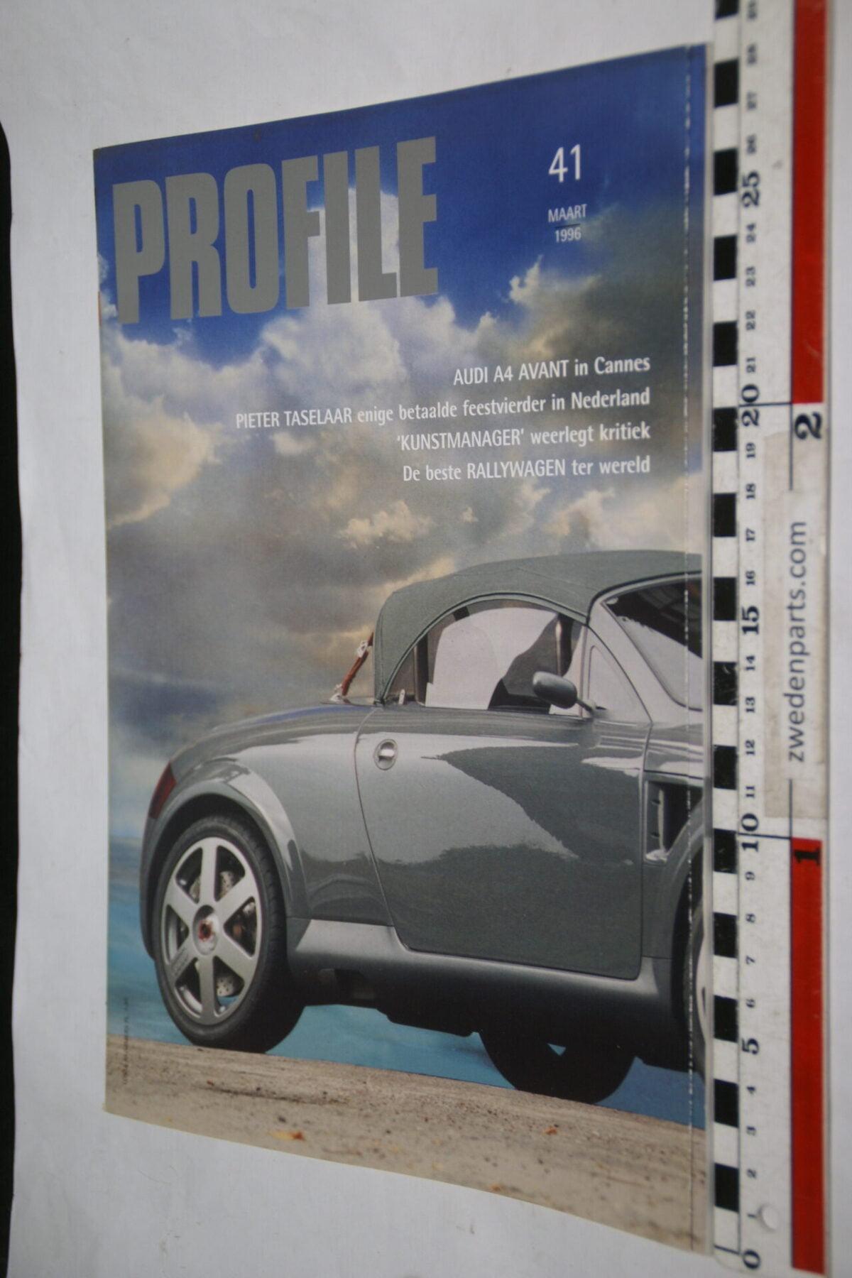 DSC01255 1996 maart tijdschrift Profile Audi Avant nr 41-e5011dcf