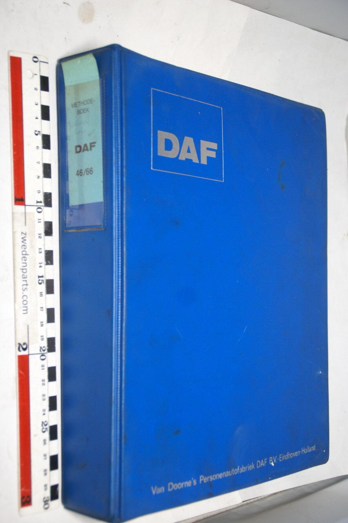 DSC01294 origineel DAF 46 66 servicehandboek-673d681a