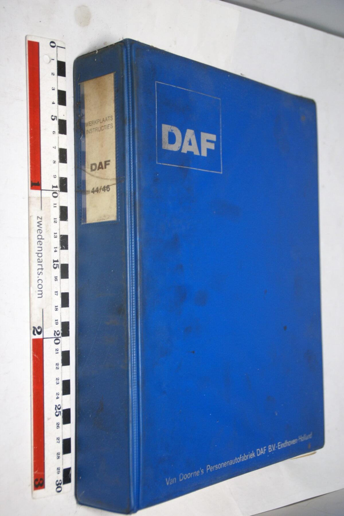 DSC01301 origineel DAF 44 46 werkplaatshandboek-fd3d11f7