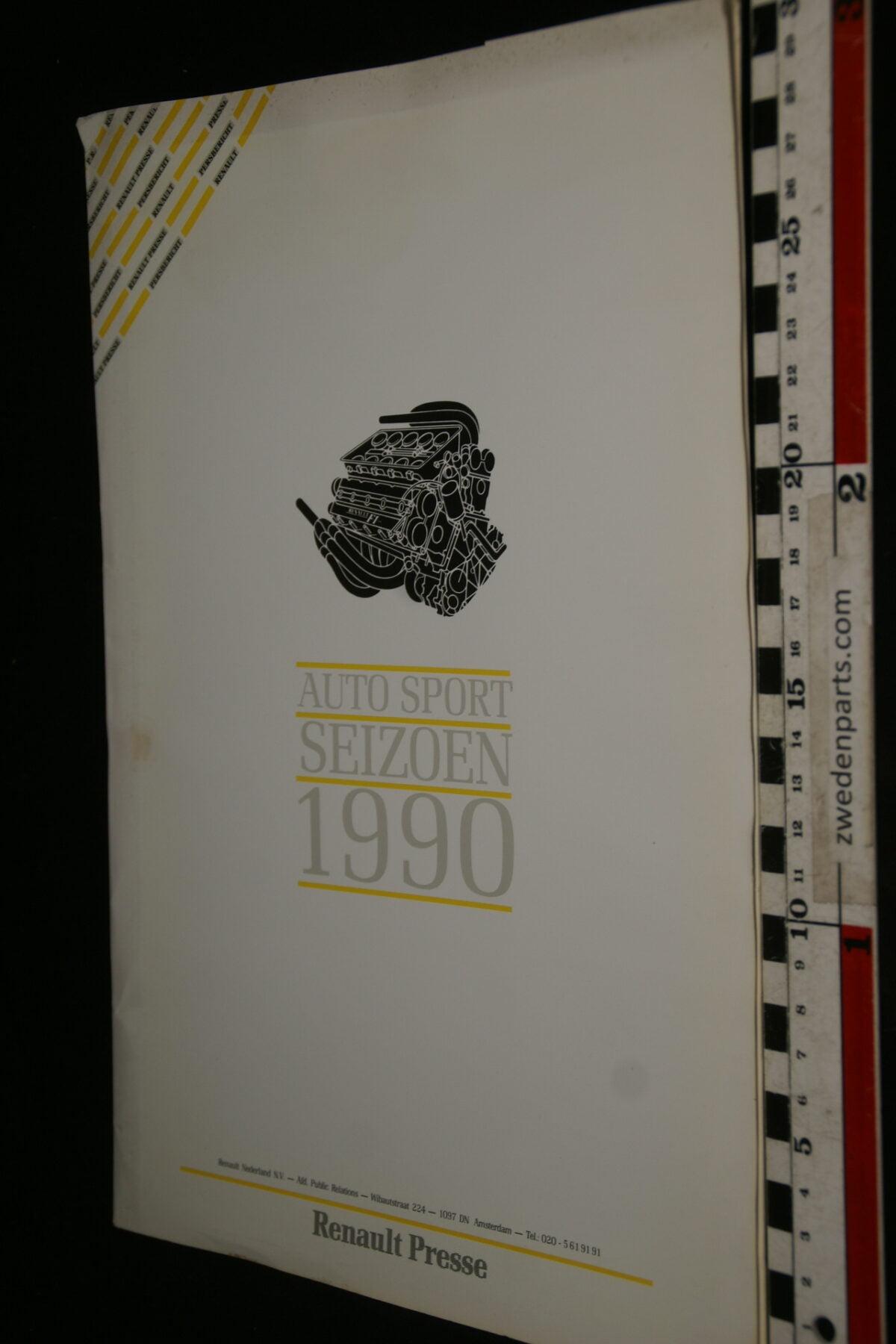 DSC00001 1990 originele persmap Renault Autosportseizoen-64072938