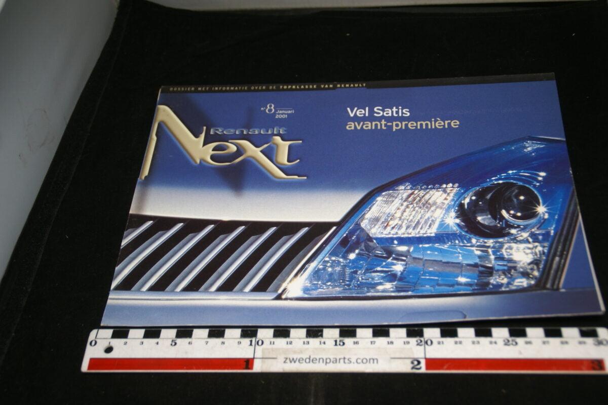 DSC00008 2001  originele persmap Renault Next met Vel-Satis-c66d35ca