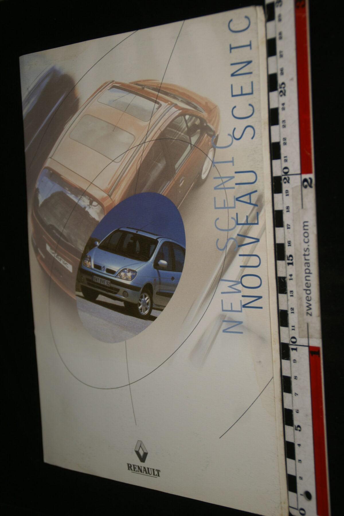 DSC00010 ca. 1990 originele persmap Renault Nouveaux Scenic-5689ca88