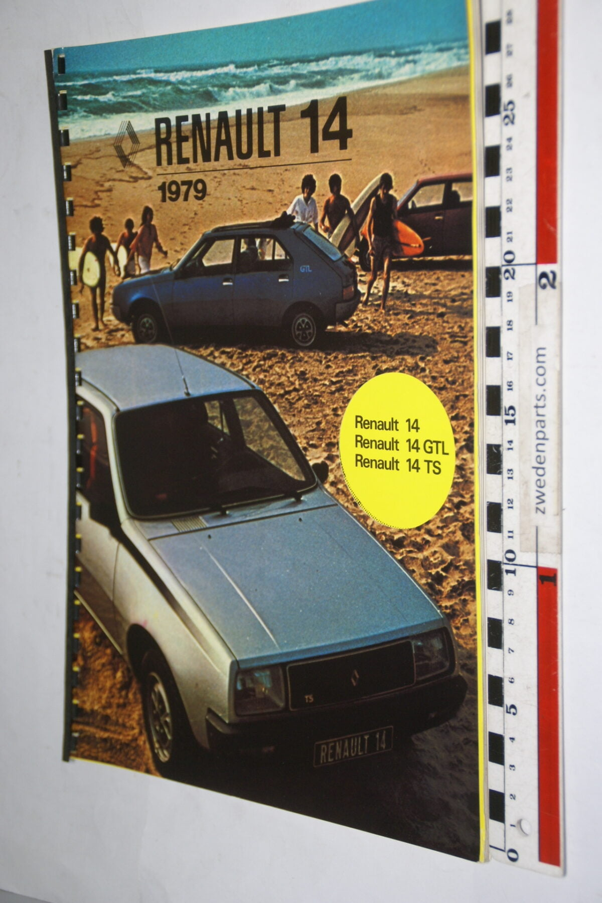 DSC00033. 1979 originele persmap Renault 14 -62cd9b34