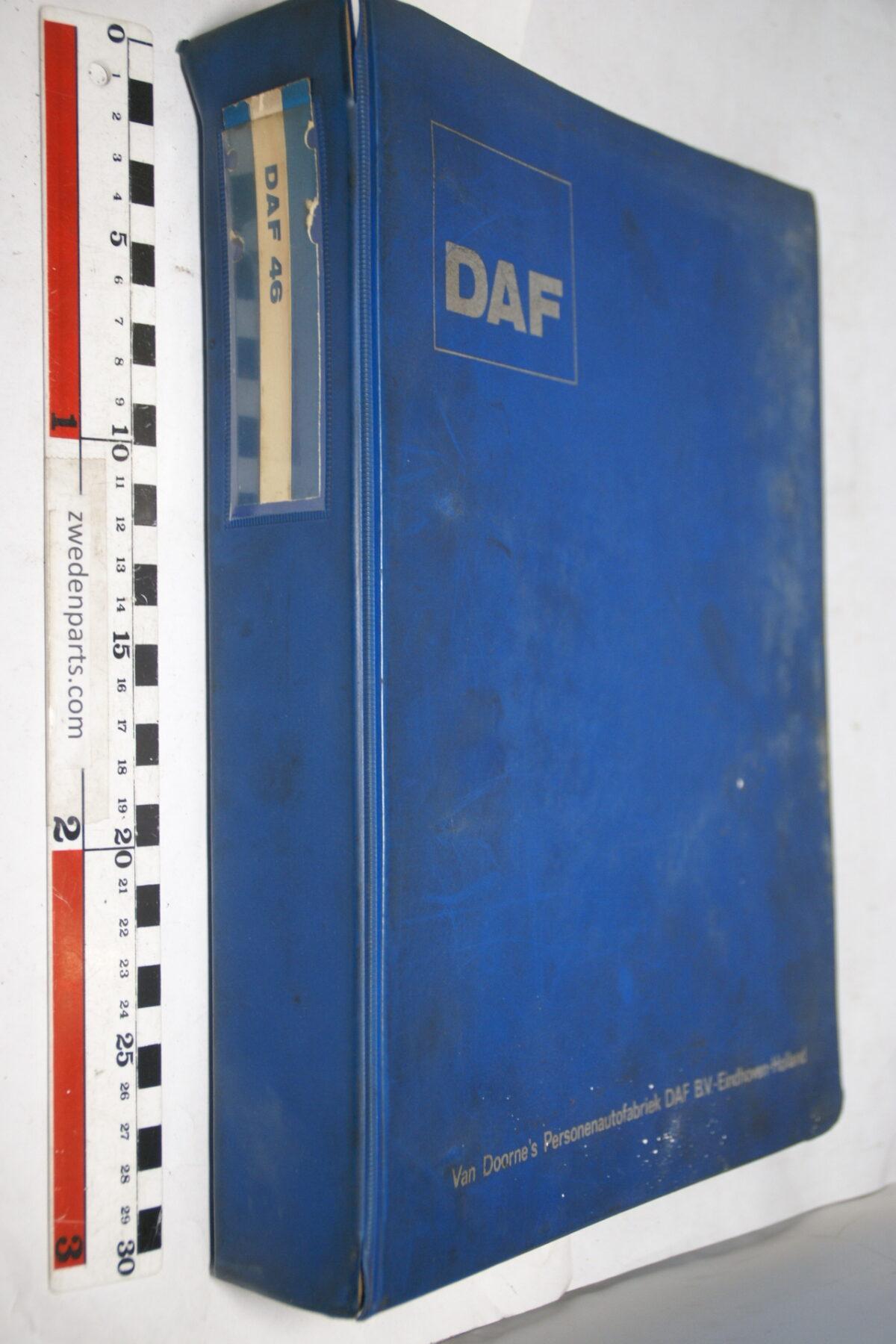 DSC01587 origineel DAF 46 onderdelenboek-dc25e5f5