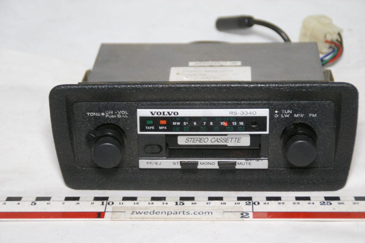 DSC01722 originele Volvo stereo radio cassettespeler RS-3000-b9403e06