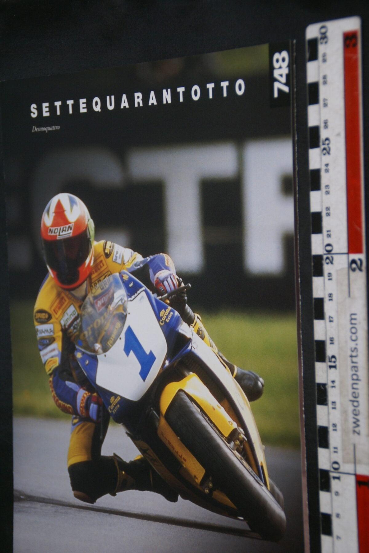 DSC02228 ca. 1995 originele brochure Ducati 748 motorfietsen nr D0131-095a536f