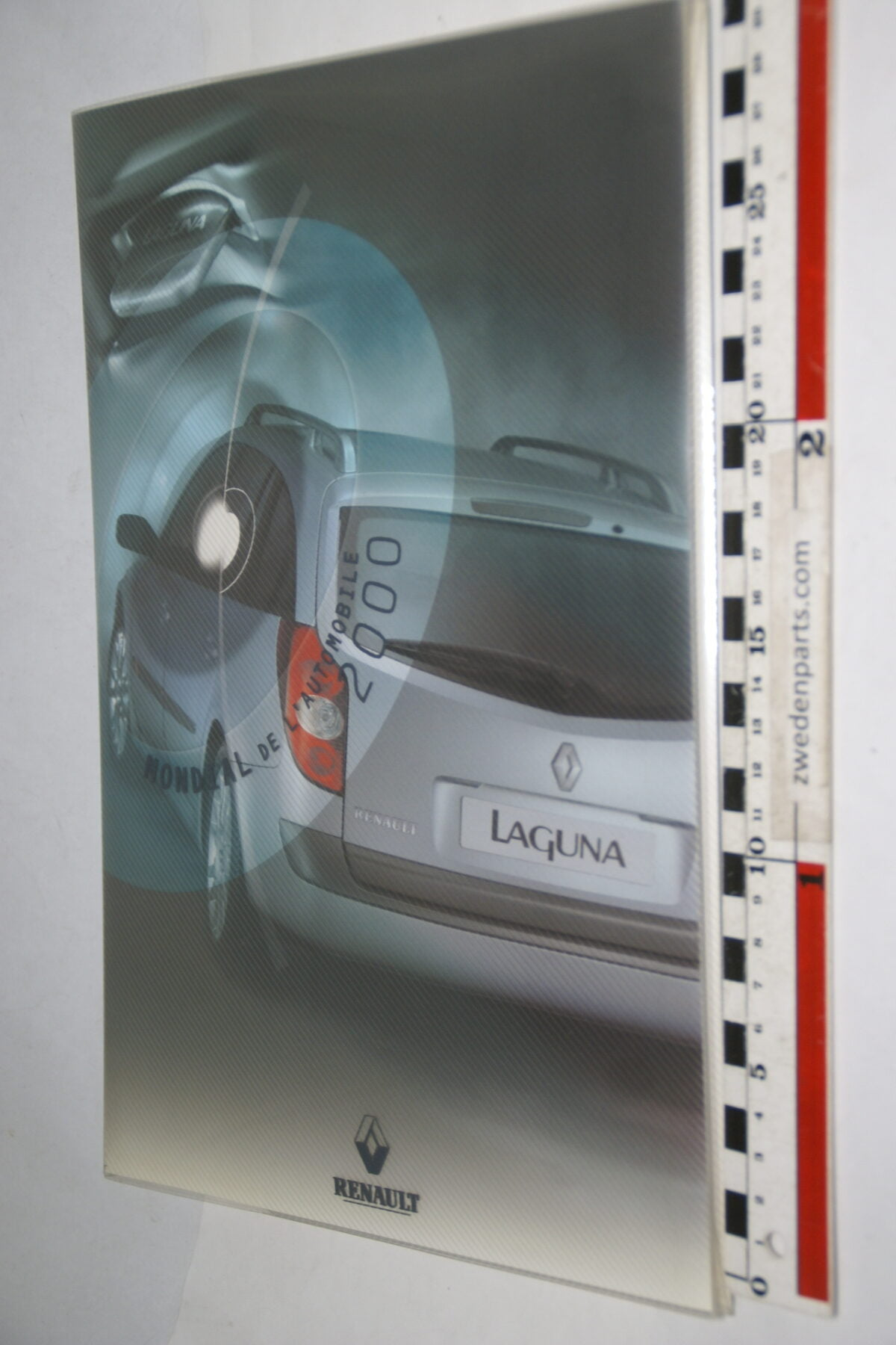 DSC09973 2000 originele persmap Renault Laguna II-833755a7
