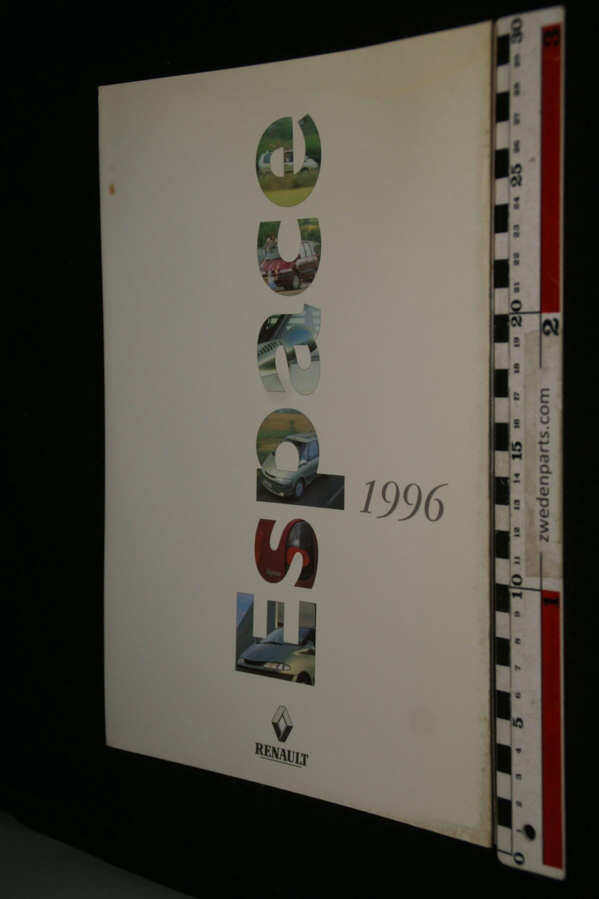 DSC09975 1996 originele persmap Renault Espace, English-f71ae6ac