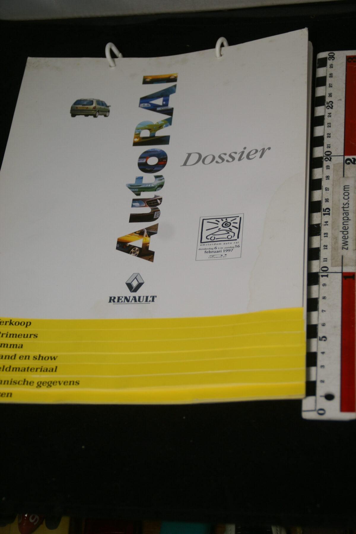 DSC09979 1997 originele persmap Renault AutoRAI-b14b7433