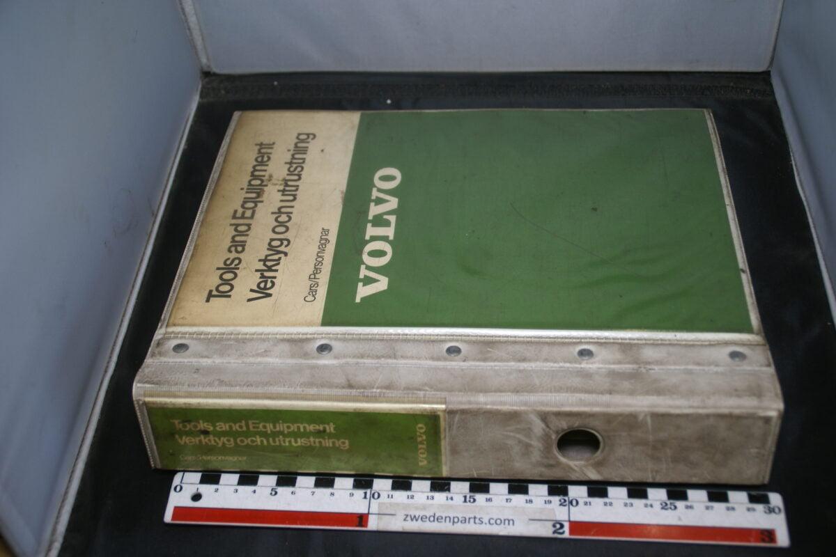 DSC02249 1982 originele handleiding Volvo Tools and Equipment-2711056d